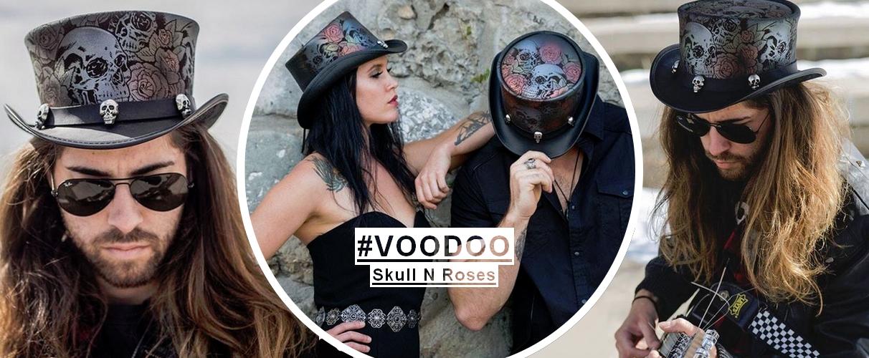 Voodo Skull N Roses